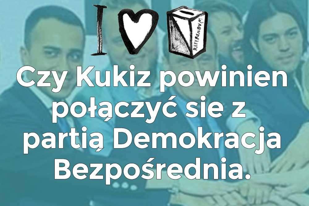Czy Kukiz15 powinien dołączyć do Partii Demokracja Bezpośrednia?