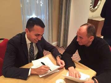 Pozdrowienia od lidera Ruchu 5 Gwiazd, wicepremiera Włoch Luigiego di Maio